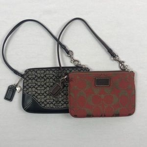 Coach change, key and card purse 👜 2